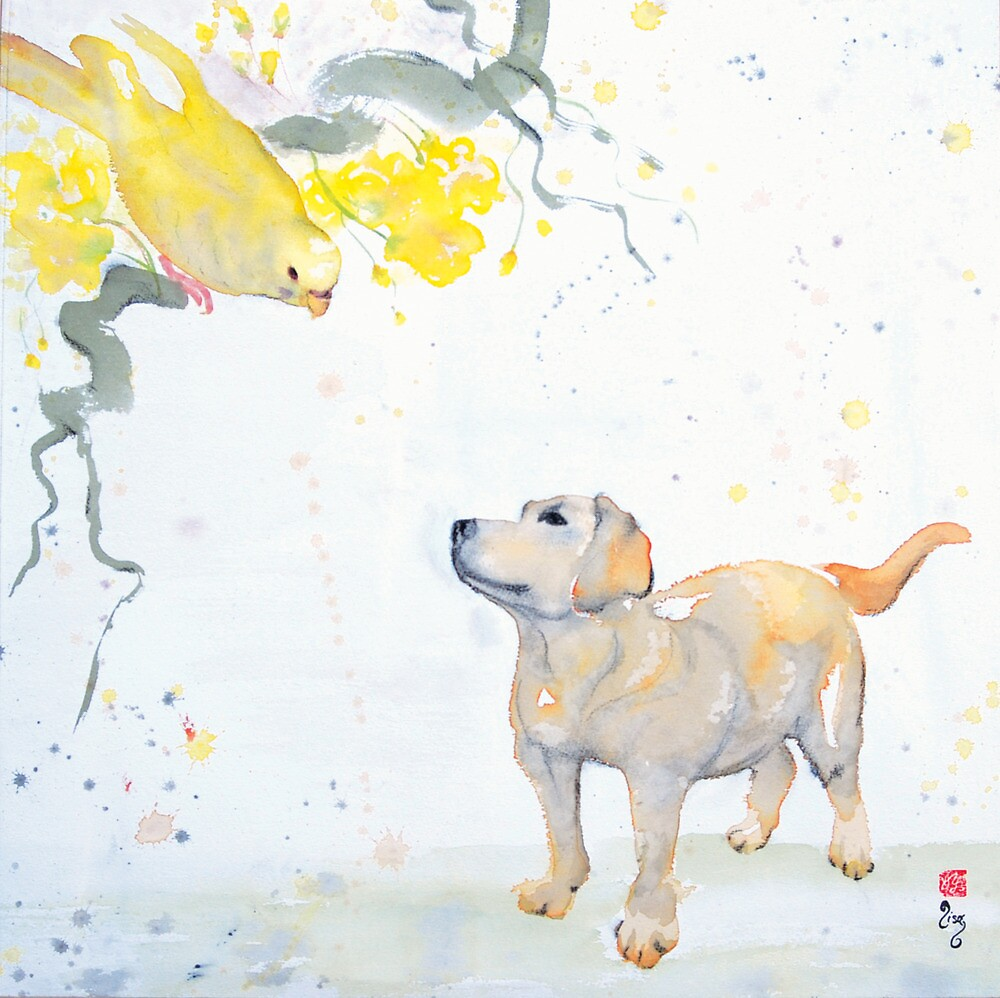 No one saw Spike catch the Budgie by Lisa Buckland