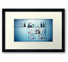 The Medicine Cabinet Framed Print