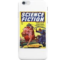 Science Fiction Comic book iPhone Case/Skin