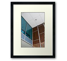 Contrasting Materials Framed Print