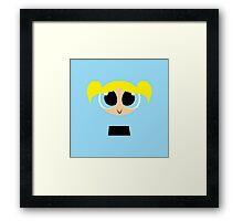 Bubbles - PowerPuff Girls Framed Print