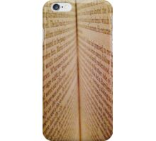 Book Pages iPhone Case/Skin