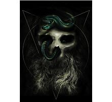 Serpent Lord Photographic Print