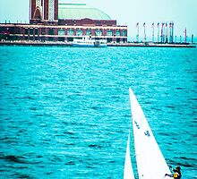 Chicago-Sailing by Damian  Christopher Photography