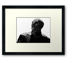 The Master, Painted Framed Print