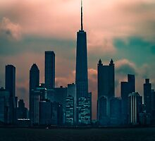 Chicago- Electric City by Damian  Christopher Photography