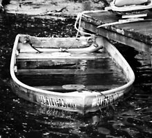 old boat by Candi  Adams