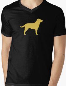Yellow Labrador Retriever Silhouette T-Shirt