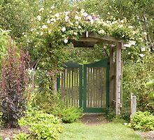 The Garden Gate by Jamie Peterson