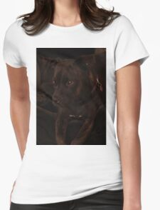 Milly's Portrait Womens Fitted T-Shirt