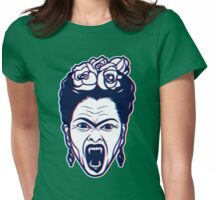 Frida Kahlo Vampire in 3D Womens Fitted T-Shirt