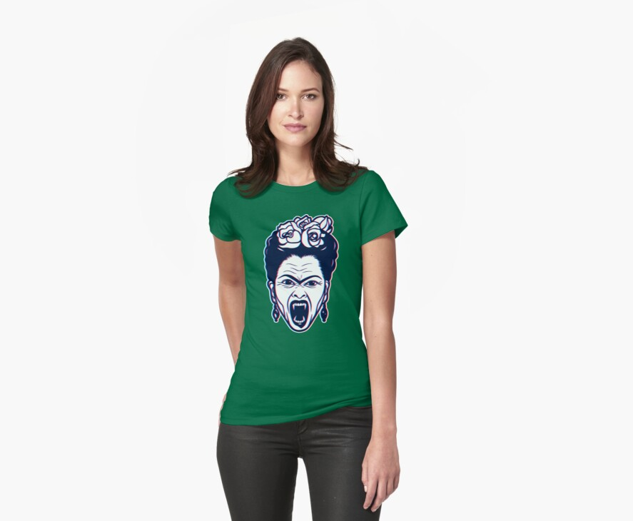 Frida Kahlo Vampire in 3D by Jacqueline Gwynne