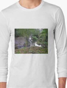 Below Guide Falls, Tasmania, Australia Long Sleeve T-Shirt