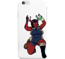 Ample Adventurer - Tiefling Alchemist iPhone Case/Skin