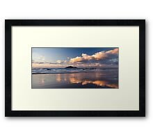 Sunrise at Mission Beach over Dunk Island Framed Print
