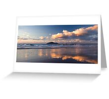 Sunrise at Mission Beach over Dunk Island Greeting Card