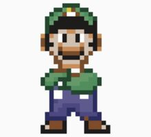 Luigi (16-bit) by cusmar