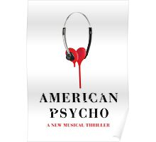 American Psycho Design Poster