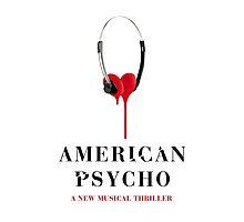 American Psycho Design Photographic Print