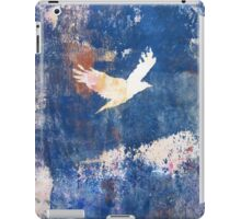 White Bird Flying Above the Clouds by Heather Holland iPad Case/Skin