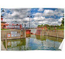 Tenney Park Locks-2 Poster