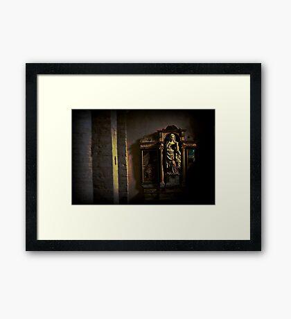 lomography Framed Print