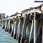 One Mile Jetty, Carnarvon by ladieslounge