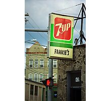 Frankie's Tavern, Binghamton, New York Photographic Print