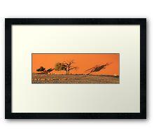 Dune 45 Shadows Framed Print