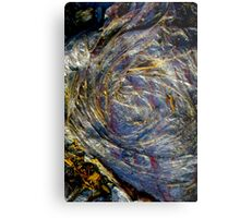The Earth Plus Plastic Metal Print