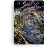 The Earth Plus Plastic Canvas Print