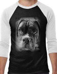 Oh Please... Let It Rain Cookies ~ Boxer Dogs Series ~ Men's Baseball ¾ T-Shirt
