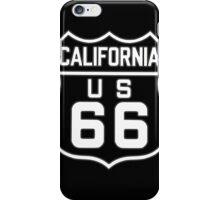 California US 66 iPhone Case/Skin