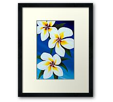 dance of the Frangipani  Framed Print