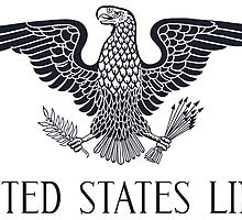 United States Lines Blue Eagle by apontebrands