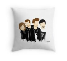 .triangle boys. Throw Pillow