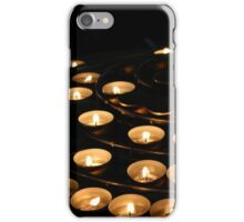 Candles at Notre Dame  iPhone Case/Skin
