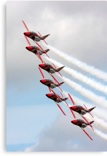 """""""Patrulla  Aguilla"""" Spanish Air Force Display Team by SWEEPER"""