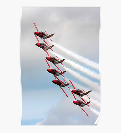 """Patrulla  Aguilla"" Spanish Air Force Display Team Poster"