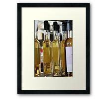 Chardonnay verjuice, Providore, Margaret River Framed Print