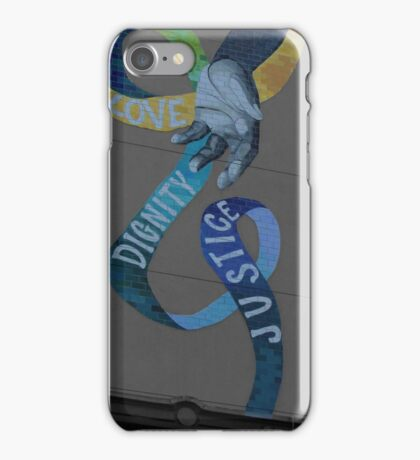 Love Dignity Justice iPhone Case/Skin
