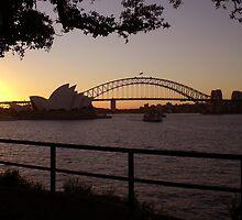 Sydney at dusk by Martyn Baker | Martyn Baker Photography
