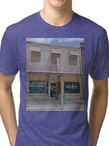 Dirty Sally's Saloon, Brunswick, Missouri, USA Tri-blend T-Shirt