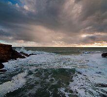 Stormy Seas at Robe by wolfcat