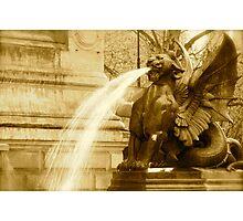 Fierce Fountain Photographic Print