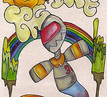 Robot #30 by Octavio Velazquez