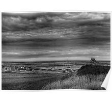A Grand View of Lindisfarne Poster