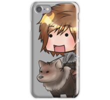 Bran Stark and Summer iPhone Case/Skin