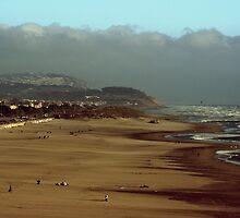 Oceans Beach - SFO by Gursimran Sibia