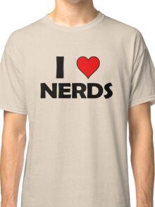 I heart nerds Classic T-Shirt